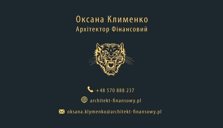 Architekt Finansowy Oksana